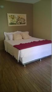 Cama o camas de una habitación en Estalagem do Carmo