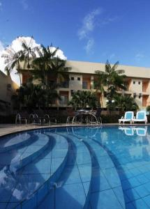 The swimming pool at or near Augustu's Hotel
