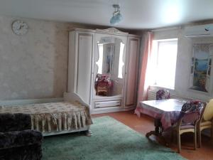A bed or beds in a room at Holiday Home Vityazevo