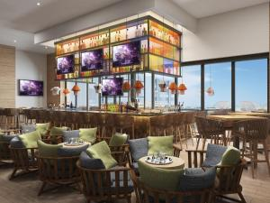 A restaurant or other place to eat at Hard Rock Hotel Los Cabos