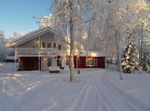 Riverhouse Lumo during the winter