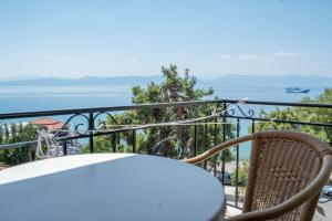 Балкон или тераса в Irini Spa Hotel