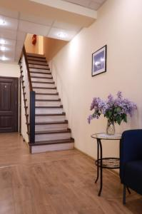 The lobby or reception area at Guest House Aist