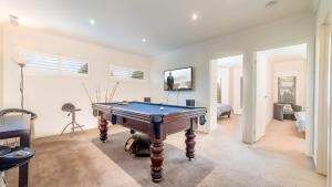 A pool table at OCEANS 11 - SURFSIDE - WIFI & FOXTEL - PET FRIENDLY (OUTSIDE ONLY)