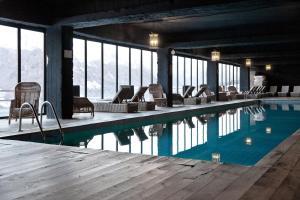 The swimming pool at or near Rooms Hotel Kazbegi