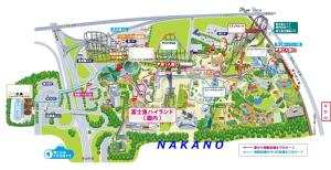 The floor plan of Nakano