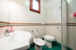 A bathroom at Il Roseto B&B