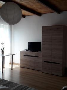 Telewizja i/lub zestaw kina domowego w obiekcie Villa Osa Modlin Airport