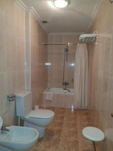 A bathroom at Hotel Amefa