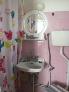 Ένα μπάνιο στο Hotel Methanion
