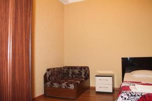 Гостиная зона в Apartment in Kurortnyi Gorodok