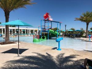 Children's play area at Luxury 6BR Villa in Windsor at Westside Resort