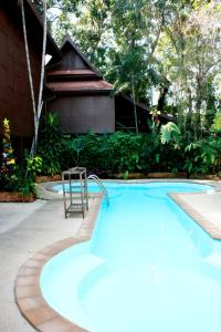 The swimming pool at or near Club One Seven Gay Men Hotel Chiang Mai