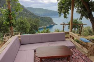 A balcony or terrace at Olive Garden Kabak