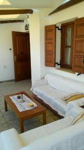 Ένα ή περισσότερα κρεβάτια σε δωμάτιο στο Vila Armonia