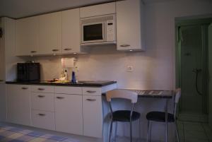 Küche/Küchenzeile in der Unterkunft Apartment Riverholiday