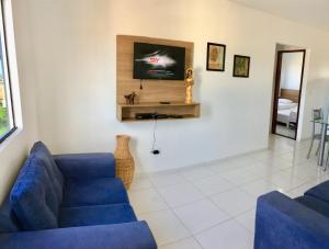 A seating area at Maragogi Praia Flats