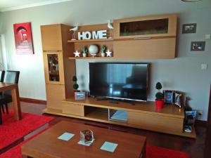 TV a/nebo společenská místnost v ubytování Apartamento Plaza Perillana