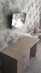A kitchen or kitchenette at Apartment Kabardinskiy pereulok