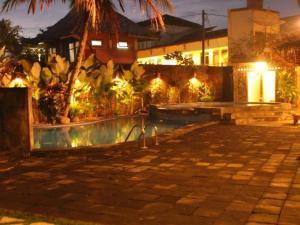 The swimming pool at or near Nyiur Resort Hotel