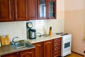 A kitchen or kitchenette at Baikal Gavan