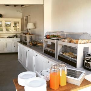 Cucina o angolo cottura di Viestemare Resort & SPA