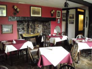 A restaurant or other place to eat at Townstal Farmhouse