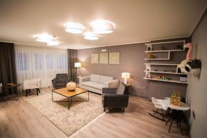 Zona de estar de Hotel Porto do Barqueiro