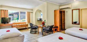 Гостиная зона в Tanoa Skylodge Hotel