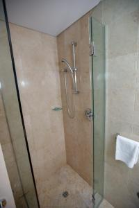 A bathroom at Bond 314
