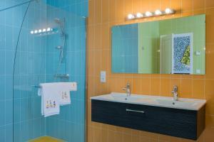 Salle de bains dans l'établissement B&B La Maison Vintage