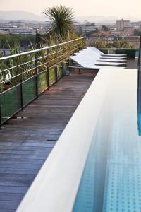 Balcon ou terrasse dans l'établissement CGH Résidences & Spas Villa Romana