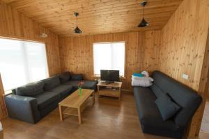 Setusvæði á Gladheimar Cottages