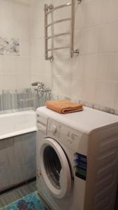 A bathroom at Апартаменты Долгопа