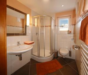 Koupelna v ubytování Villa Castelli