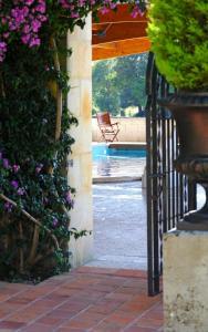 The swimming pool at or near San Román de Escalante