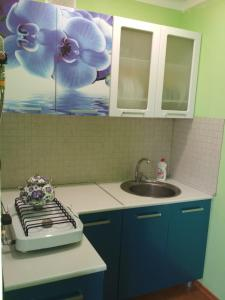 A kitchen or kitchenette at Guest House Viola