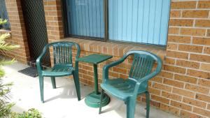 A porch or other outdoor area at Dunbar Court Unit 4 at South West Rocks