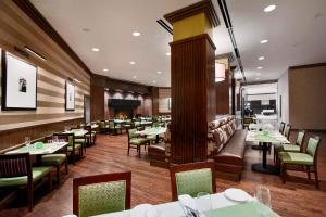 A restaurant or other place to eat at Hilton Rosemont Chicago O'Hare