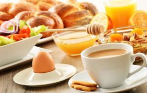 Frühstücksoptionen für Gäste der Unterkunft Enzianbrenner