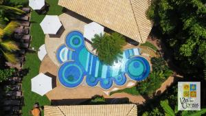 A bird's-eye view of Hotel Via dos Corais