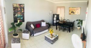 Zona de estar de Casa La Caridad Apartment