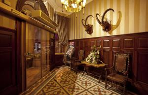 The lobby or reception area at The Royal Highland Hotel
