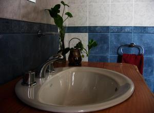 A bathroom at Carpe Diem Cabañas & Suites