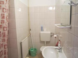 Kúpeľňa v ubytovaní Pummer Vendégház