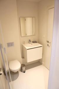 A bathroom at Elberg ApartHotel