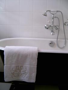 A bathroom at La Villa Camille