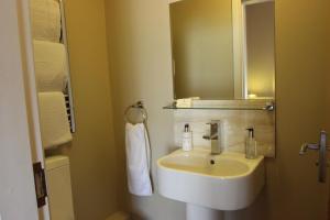 A bathroom at The Badger Inn
