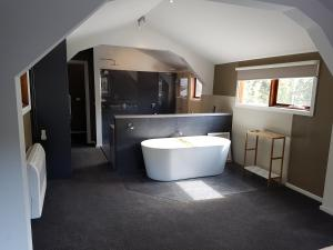 A bathroom at Montrose Barn House