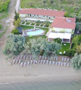Άποψη από ψηλά του Hotel Stella